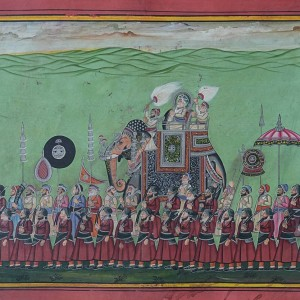 Darbar Procession | Miniature Painting 0143