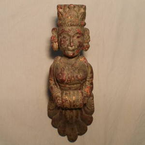 Wooden Handicrafts | Wooden Wall Hanging Pari Sculpture 0450