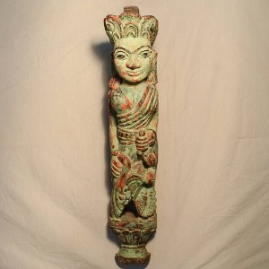 Wooden Handicrafts | Wooden Wall Hanging Lady Sculpture 0452