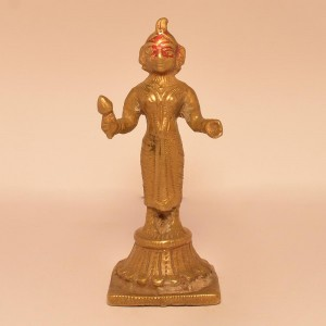 Lady God (Devi) | Brass Statue 0352