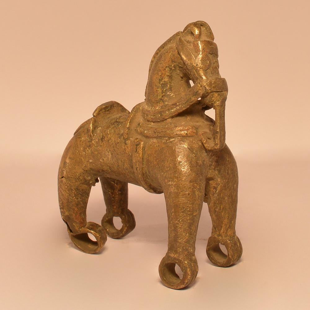 Horse without Wheels (Toy) | Brass Statue(1) 0362