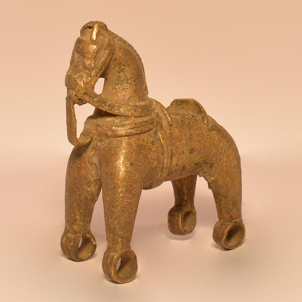 Horse without Wheels (Toy) | Brass Statue(3) 0362